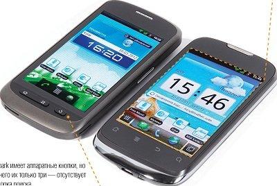 Звездные братья - смартфоны «Киевстар» Aqua и Spark