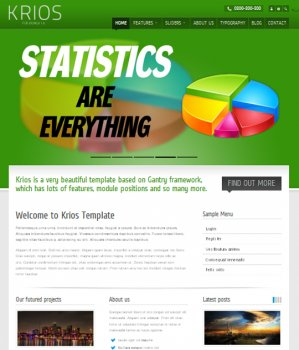 Krios - ThemeForest